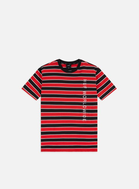 Outlet e Saldi T-shirt a Manica Corta Huf Lexington Knit Top T-shirt