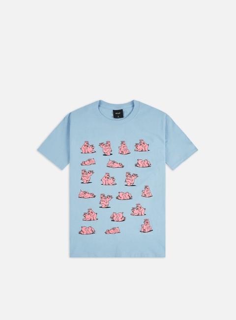 Outlet e Saldi T-shirt a Manica Corta Huf Makin Bacon T-shirt