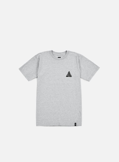 t shirt huf muted military triple triangle t shirt grey heather