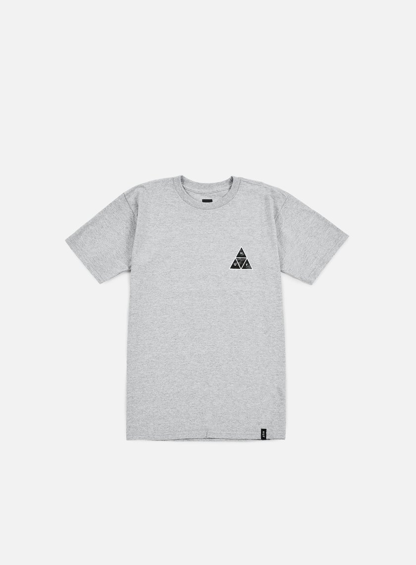 Huf - Muted Military Triple Triangle T-shirt, Grey Heather