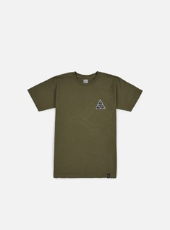 Huf - Muted Military Triple Triangle T-shirt, Military 1