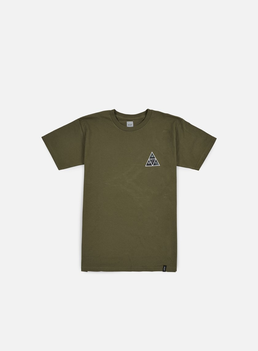 Huf - Muted Military Triple Triangle T-shirt, Military