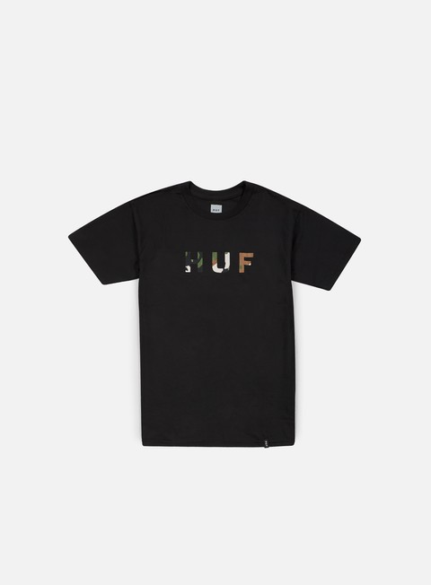 t shirt huf original logo t shirt black camo