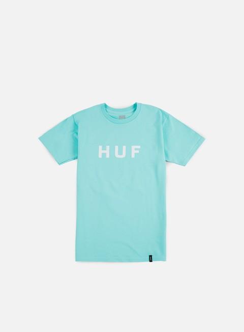 t shirt huf original logo t shirt celadon