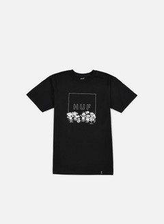 Huf - Peanuts Gang Box Logo T-shirt, Black 1