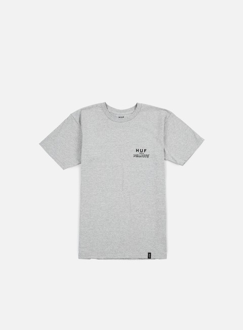 t shirt huf peanuts spike classic t shirt grey heather