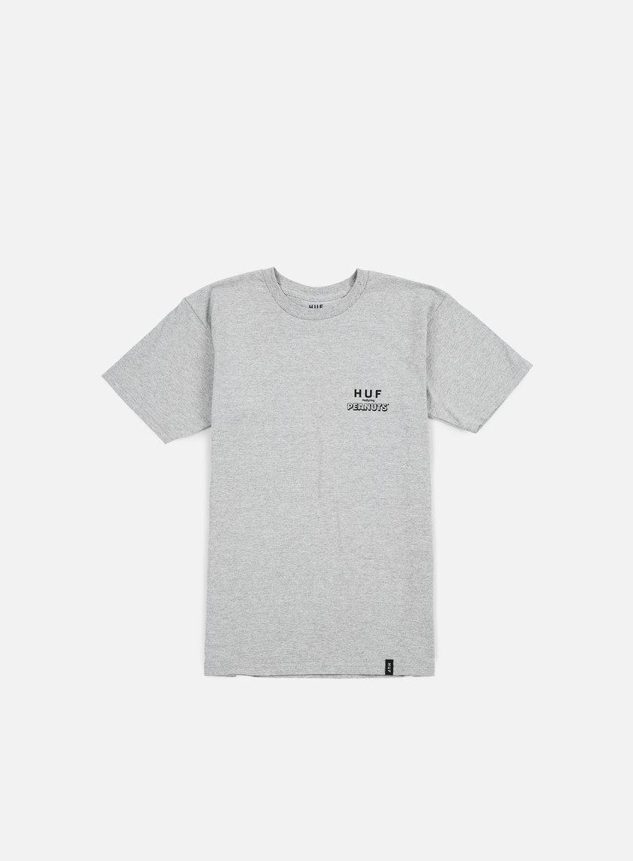 Huf - Peanuts Spike Classic T-shirt, Grey Heather