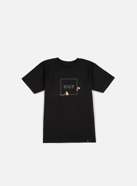 t shirt huf pink panther box logo t shirt black