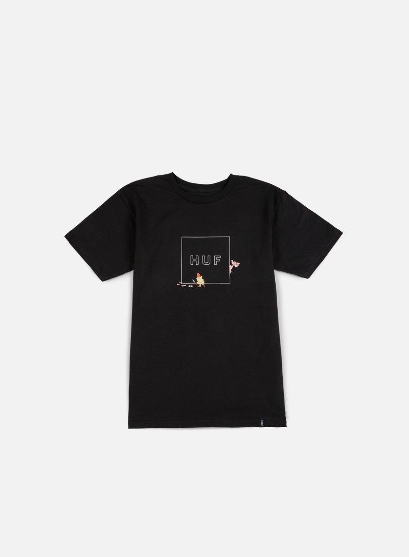 Huf - Pink Panther Box Logo T-shirt, Black