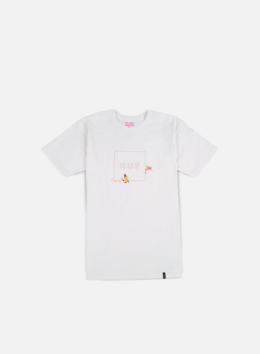 Huf - Pink Panther Box Logo T-shirt, White