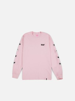 Huf - Pink Panther Heads LS T-shirt, Pink 1
