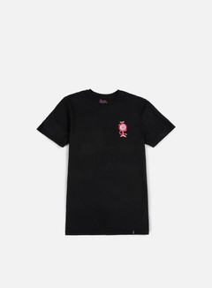 Huf - Pink Panther Pink Ball T-shirt, Washed Black 1