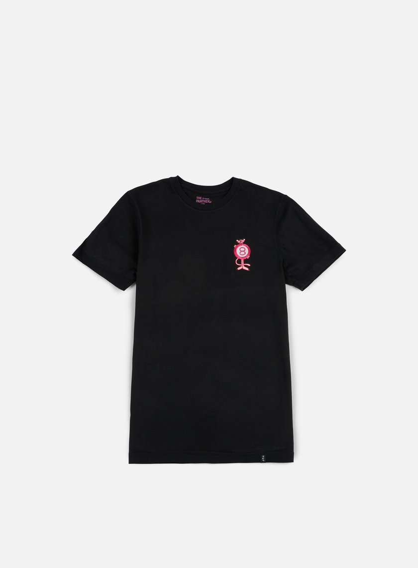 Huf - Pink Panther Pink Ball T-shirt, Washed Black