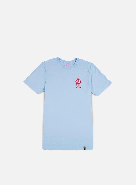 Huf - Pink Panther Pink Ball T-shirt, Washed Light Blue