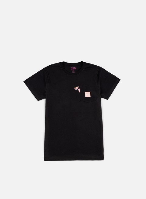 t shirt huf pink panther pocket t shirt black