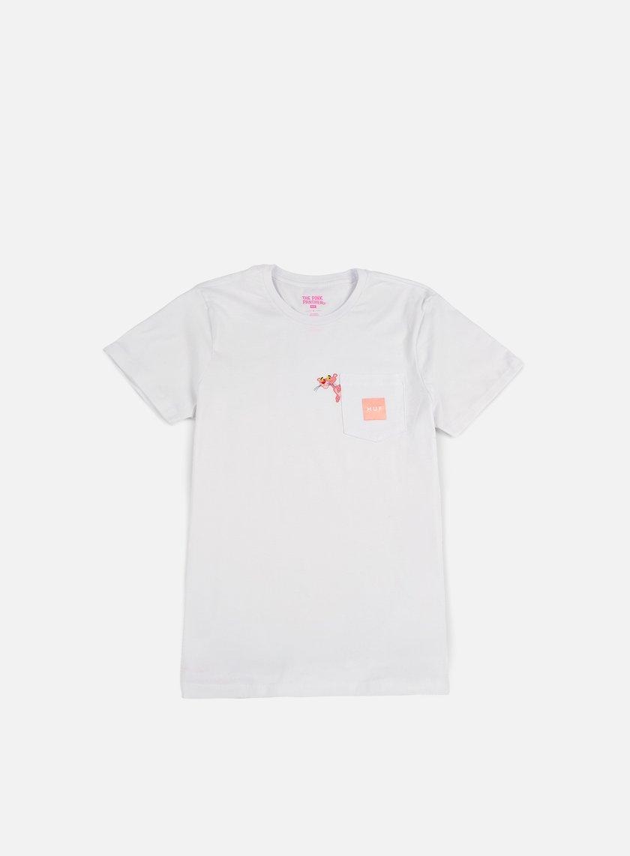 HUF - Pink Panther Pocket T-shirt, White € 31,50 - TS75302 T ...