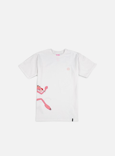 Outlet e Saldi T-shirt a Manica Corta Huf Pink Panther Run T-shirt