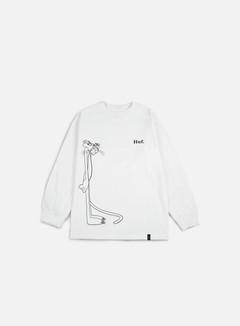 Huf - Pink Panther SUS LS T-shirt, White 1