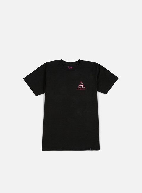 t shirt huf pink panther triple triangle t shirt pink