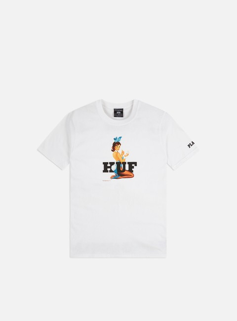 Outlet e Saldi T-shirt a Manica Corta Huf Playboy Bunny Logo T-shirt