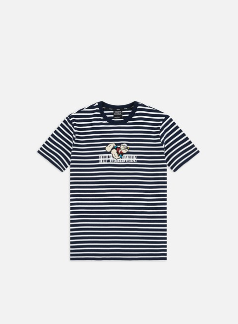 Outlet e Saldi T-shirt a Manica Corta Huf Popeye Knit Top T-shirt