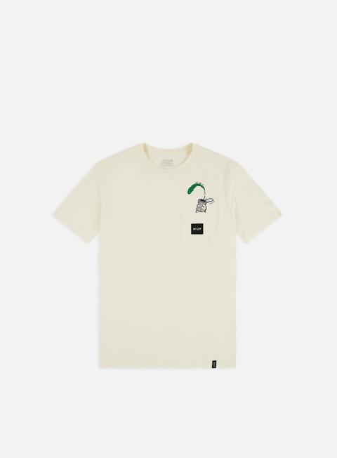 Outlet e Saldi T-shirt a Manica Corta Huf Popeye Pocket T-shirt