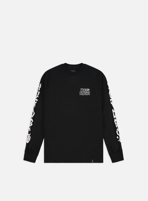 Huf Popeye Smokestack LS T-shirt