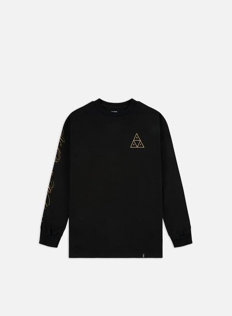 Outlet e Saldi T-shirt a Manica Lunga Huf Prestige TT LS T-shirt