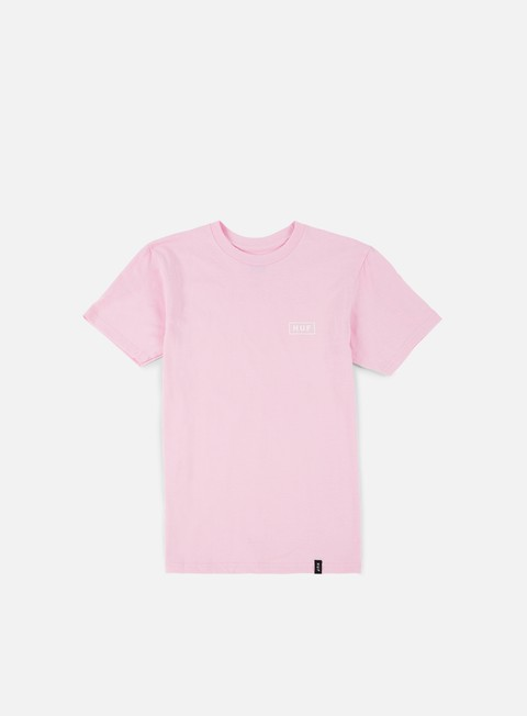 t shirt huf puff bar logo t shirt pink