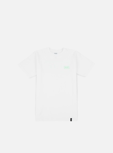 t shirt huf puff bar logo t shirt white