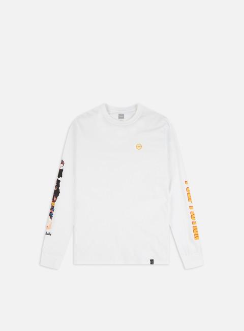 Outlet e Saldi T-shirt a Manica Lunga Huf Pulp Fiction Collage LS T-shirt