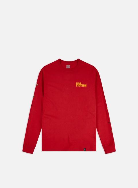Outlet e Saldi T-shirt a Manica Lunga Huf Pulp Fiction Pulp Props LS T-shirt