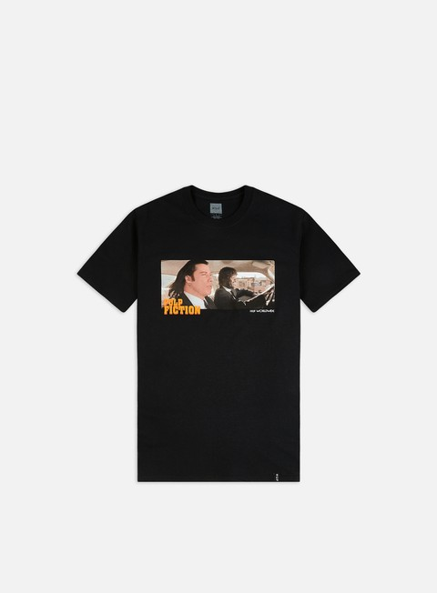 Outlet e Saldi T-shirt a Manica Corta Huf Pulp Fiction Royale With Cheese T-shirt