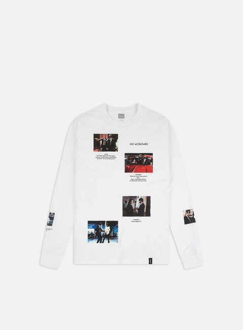 Outlet e Saldi T-shirt a Manica Lunga Huf Pulp Fiction Scenes LS T-shirt