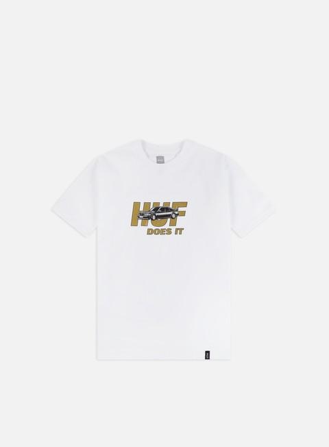Outlet e Saldi T-shirt a Manica Corta Huf Pusher T-shirt
