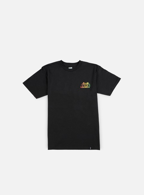 t shirt huf pyramid t shirt black