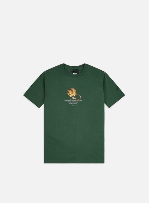 Outlet e Saldi T-shirt a Manica Corta Huf Rat Race T-shirt