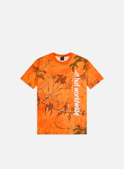 T-shirt con Stampa All Over Huf Realtree Peak Logo T-shirt