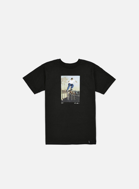 Huf - Reda Huf Crooked Grind T-shirt, Black