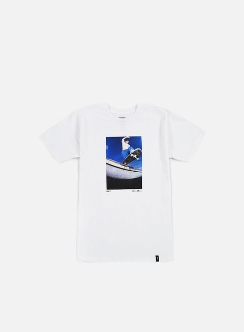 Outlet e Saldi T-shirt a Manica Corta Huf Reda Keefe Tailslide T-shirt