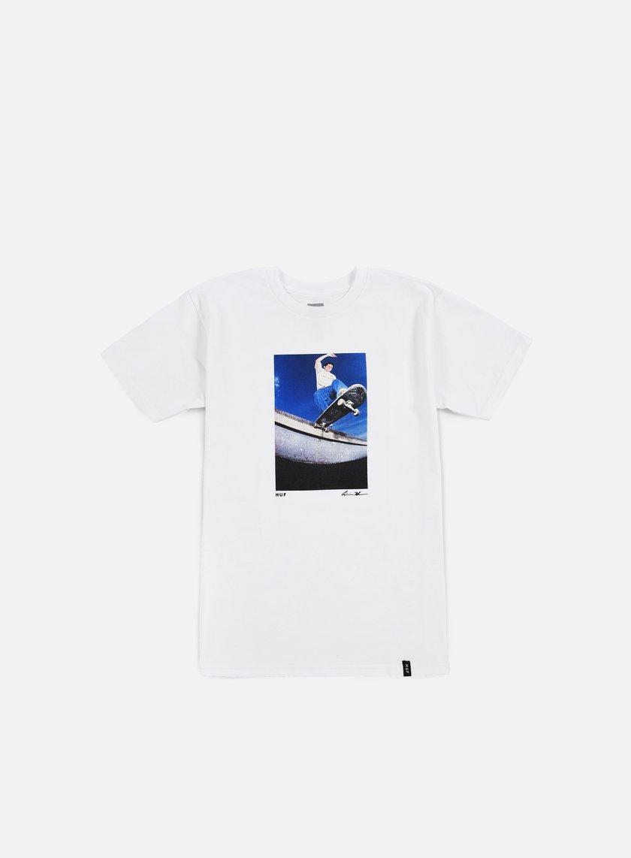 Huf - Reda Keefe Tailslide T-shirt, White