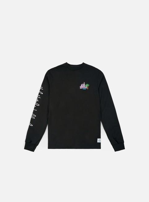 T-shirt a manica lunga Huf Smokers Lounge Valet LS Shirt