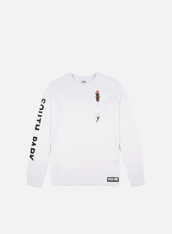 66a35fb7e65 HUF South Park Mr Hanky LS Pocket T-shirt € 25 Long Sleeve T-shirts ...