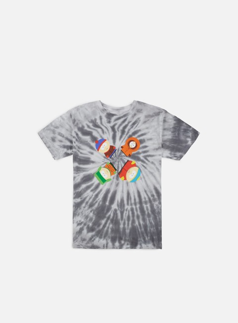t shirt huf south park trippy tie dye t shirt black