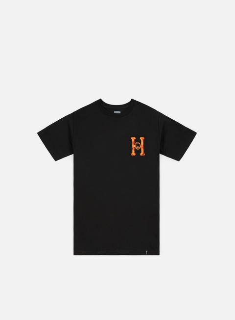 Short Sleeve T-shirts Huf Spitfire Flaming H T-shirt