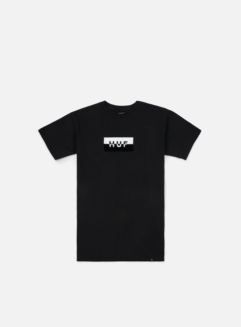t shirt huf split bar logo t shirt black