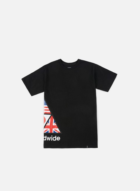 t shirt huf stadium offsides t shirt black