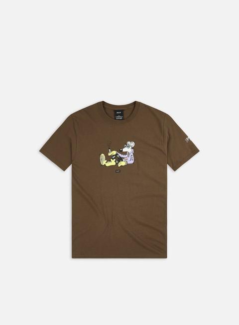 Short sleeve T-shirts Huf Steven Harrington Mouse T-shirt