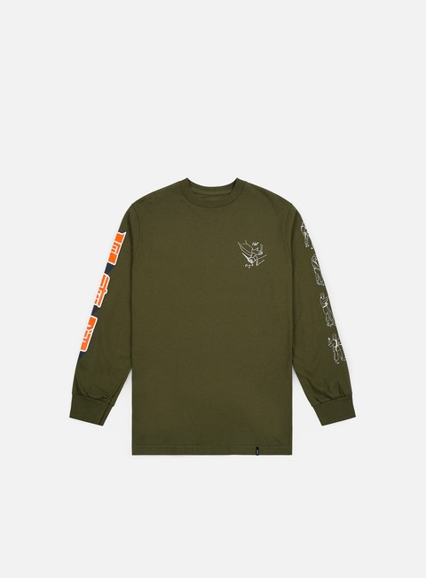 Long Sleeve T-shirts Huf Super Karate LS T-shirt