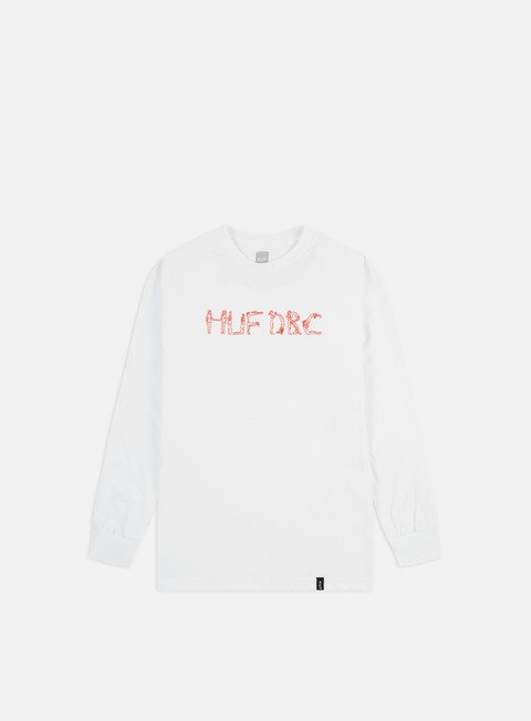 Outlet e Saldi T-shirt a Manica Lunga Huf The Ladies Emb LS T-shirt